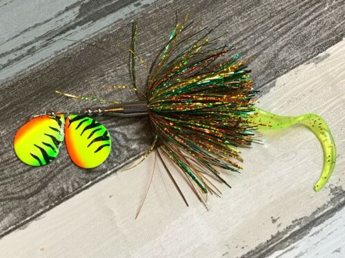 Muskie Lure Twin Drone Esox Assault Tackle Bucktail