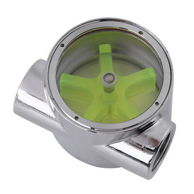 """Tungsten Alloy G1//4/"""" F to F Thread Computer Water Cooling Flow Indicator pk"""