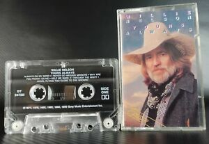 Yours Always by Willie Nelson (Cassette Tape, Sony Music, 1977-1990)
