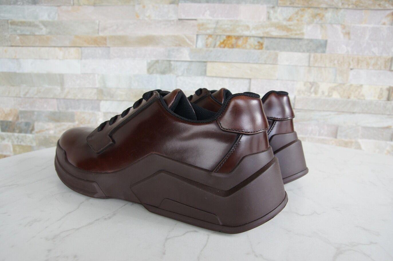 PRADA Gr Sneaker 40 6 Herren Schnürschuhe Sneaker Gr Halbschuhe Schuhe bruciato NEU UVP550 57cabd