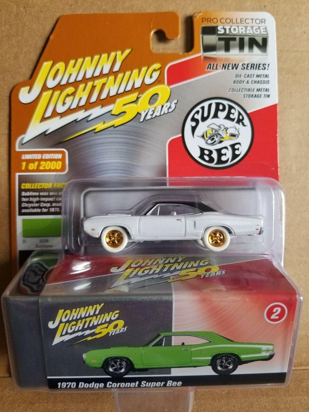 Johnny Lightning, 50 años, súper abeja, trueno blancoo.