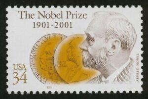 #3504 34c Premio Nobel Centenario, Nuevo Cualquier 5=