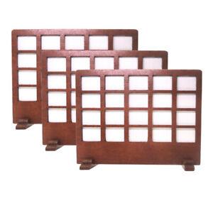 3-Pieces-1-12-Miniature-Window-Screen-Craft-Dollhouse-Fairy-Garden-Decor