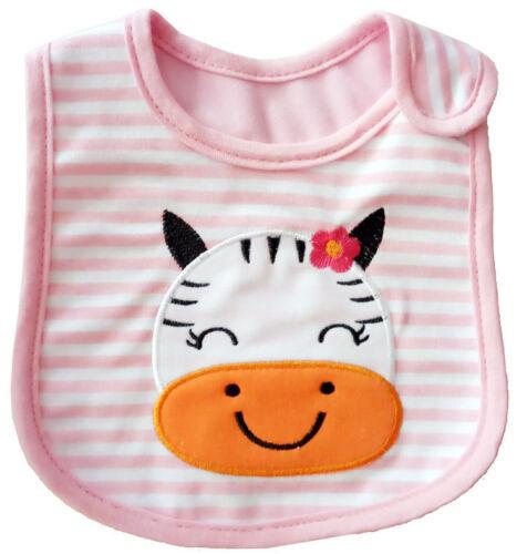 Kids Toddler Waterproof Lunch Cartoon Bibs Infant Baby Saliva Animal Towel Bib
