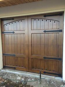 Details About Lafayette Design 9 X 7 Spanish Style Custom Mahogany Wood Garage Door