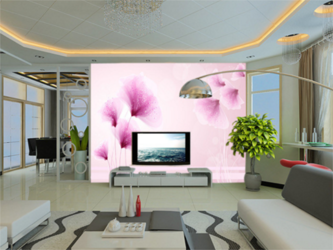 3D viola Point Point Point Flower Plant 46 Wall Paper Wall Print Decal Wall AJ WALLPAPER CA a23837