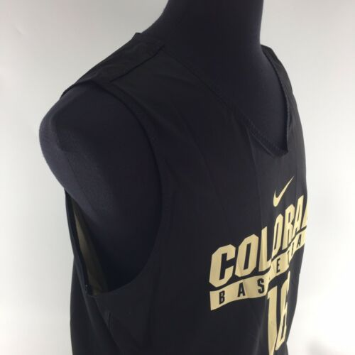 grande nueva Black Buffs de baloncesto tama Team T4b Nike Colorado reversible Camiseta o PZKaRBqv4B