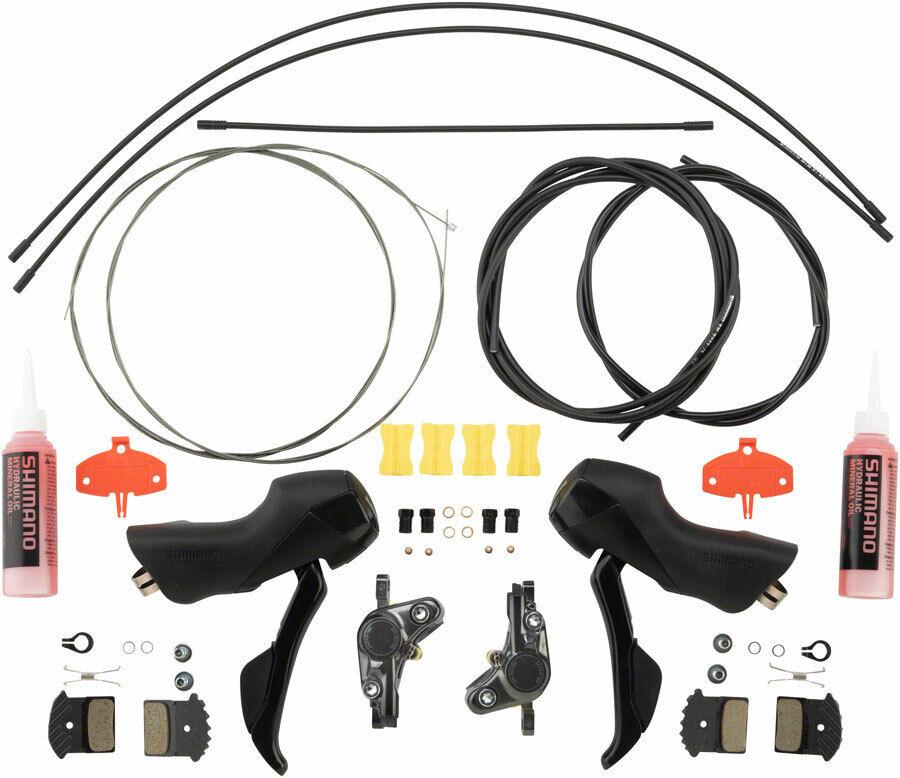 Shiuomoo StRs505 Leve Del Cambio Idraulico Leva Freno Set Set Set con BrRs785 Seatpost db6