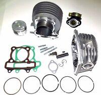Engine Cylinder Rebuild Kit Yerf Dog 150cc Go Kart Valves Piston Manifold Gasket
