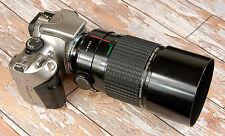 Canon EOS Digital fit Sigma 600mm F8 Mirror Lens ideal sport wildlife + Hood