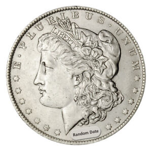 Random-Date-1878-1904-1-Morgan-Silver-Dollar-AU-About-Uncirculated-SKU34209