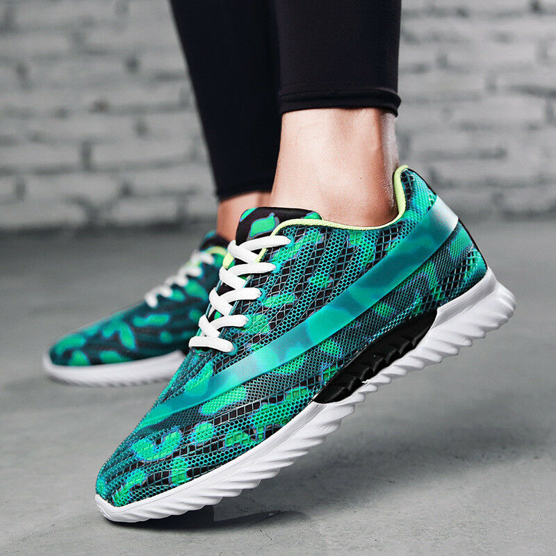 bd50b70161f0f Men s Casual Sneakers Flyknit Breathable Running Walking Sport Gym Trainer  Trainer Trainer Shoes 8fa6b6