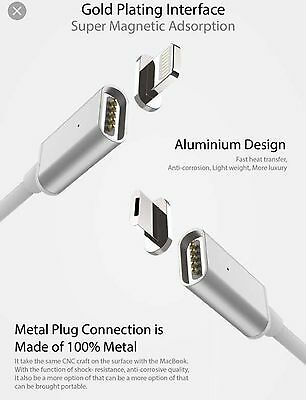 a1b5d45c1d5 2 M Original Cargador magnético adaptador lightning de carga Cable IPhone 6  7 Sa