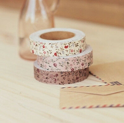 New Decorative Adhesive Tape Flower Pattern_0.6inch