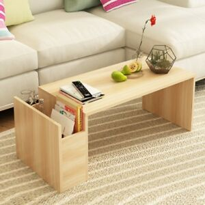 Living-Room-Wood-Cocktail-Coffee-Table-Organizer-With-Side-Storage-Drawer