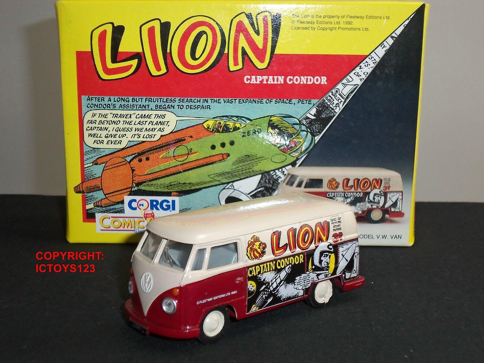 CORGI 96961 Lion Comic Annual Volkswagen VW Diecast Modèle camion de livraison