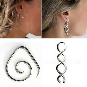 Image Is Loading 1 4pc Steel Wire Curl Metal Spiral Taper