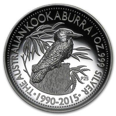 2017 Australian Kookaburra 1oz Dollar $1 Silver Proof High Relief Coin Australia