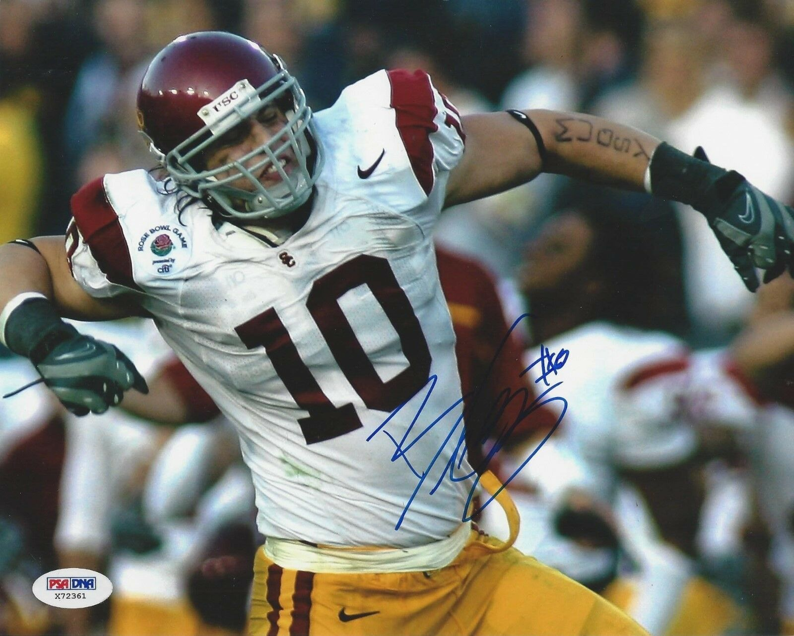 Brian Cushing USC Trojans Signed 8x10 Photo - PSA/DNA # X72361