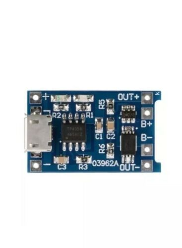 2x 5V mini USB 1A 18650 TP4056 Lithium Battery Charging Board With Prote A1D3