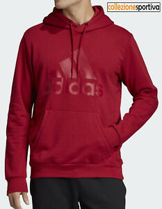 felpa rossa donna adidas
