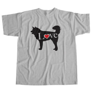 I-Love-Alaskan-Malamute-Mally-Mal-Spitz-Dog-Pet-Lover-Puppy-Unisex-Tee-T-Shirt