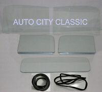 1947 1948 1949 1950 Chevrolet Pickup Gmc Windshield Doors In Channel Back Glass
