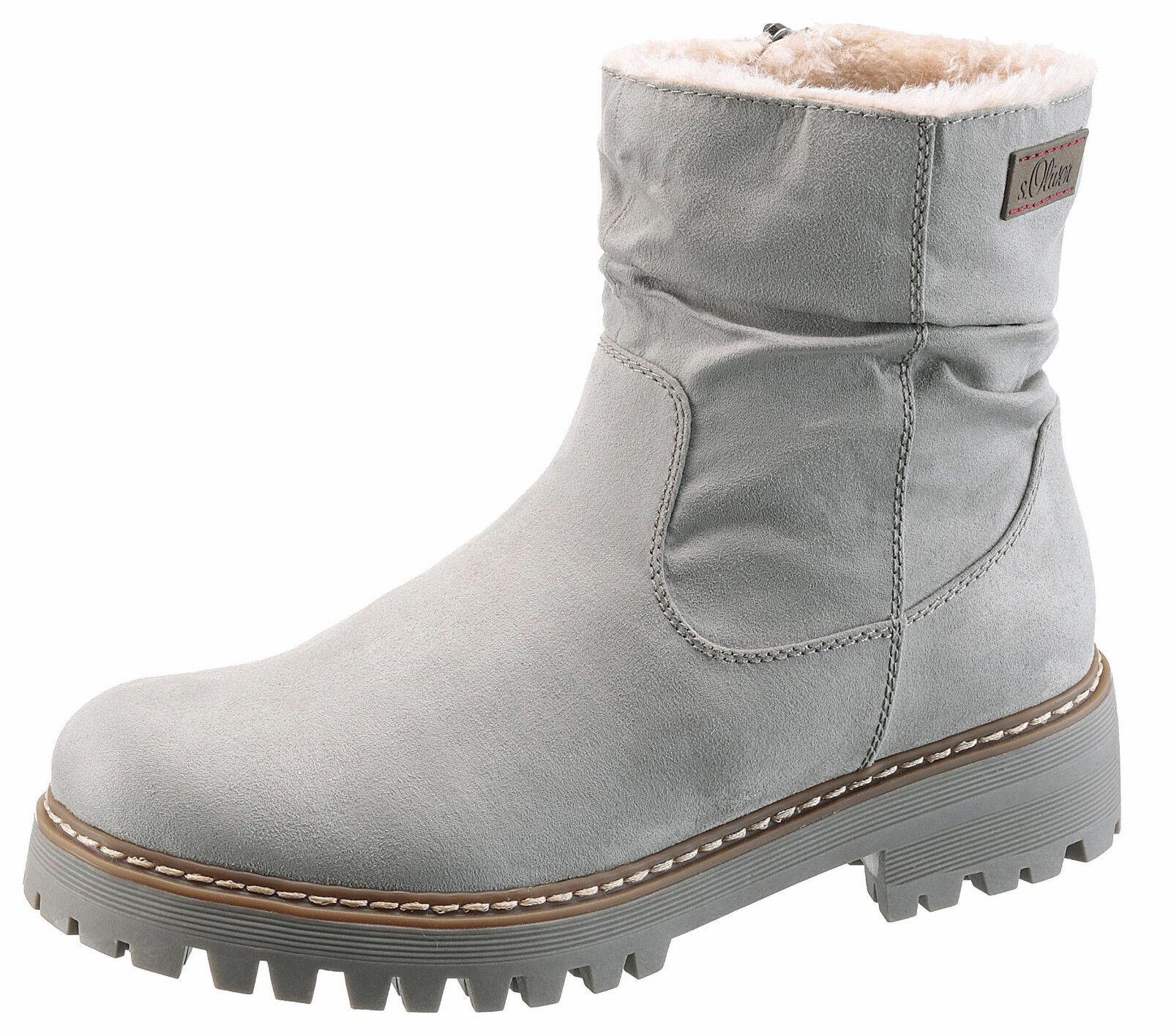 Soliver rouge LABEL Hiver bottes Bottes D'hiver Bottes Chaussures Femmes Taille 40