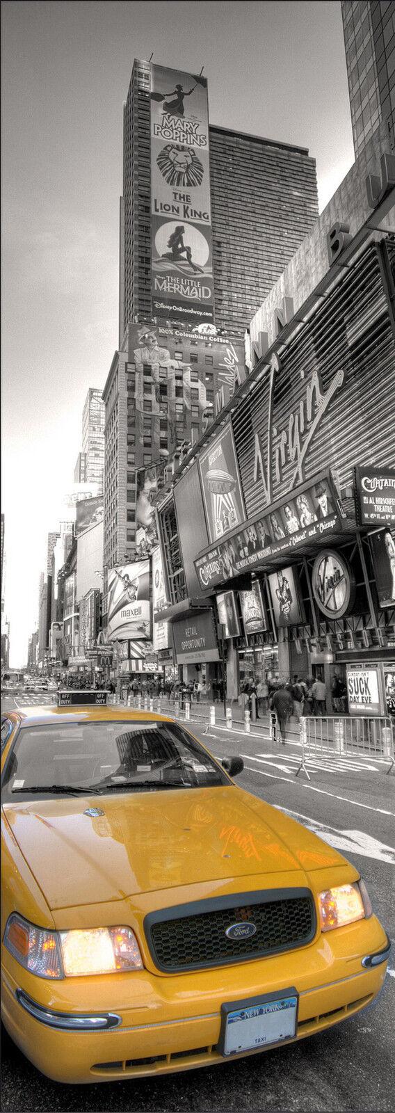 Adesivi New York Taxi 87x222,5 cm Ref 569