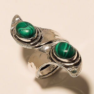 ROYAL-925-STERLING-SILVER-PLATED-GEMSTONE-RING-JEWELLERY