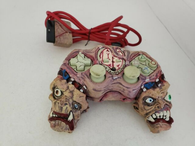 FLESHY FREAK HORROR ZOMBIE MUTANT CONTROLLER FOR PS2 PLAYSTATION 2  E9