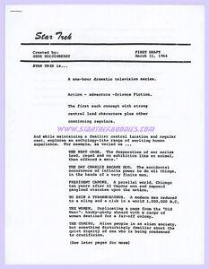 Star-Trek-The-Original-Series-Gene-Roddenberry-039-s-034-STAR-TREK-FORMAT-034-1964