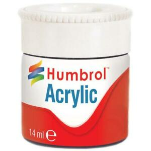 Humbrol-ACRYLIC-12ml-Paint-Pots-GLOSS-Various-Colours-Reduced-to-Clear