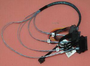 Mini SAS SFF-8643 to 4 SATA  hard disk 6Gbps data Server Raid Cable 52CM NEW