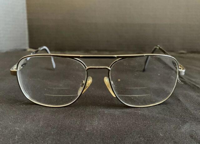Luxottica Titanium-p 1011 Vintage Eyeglasses