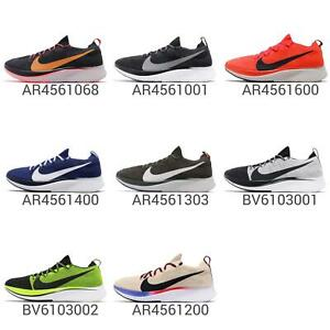 d7438f4c50db Nike Zoom Fly FK Flyknit Lightweight Mens Road Running Shoes Sock ...
