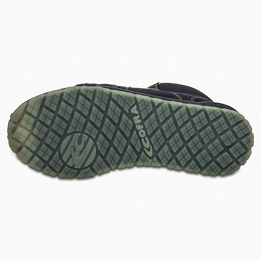 Scarpe Antinfortunistiche COFRA linea RUNNING modello PUERTA S3 SRC scarpe lavoro nubuck idrorepellente, Italian Leather 78470 003