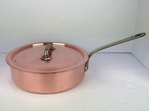 Williams Sonoma Mauviel France 2 5 Qt Copper Saute Pan