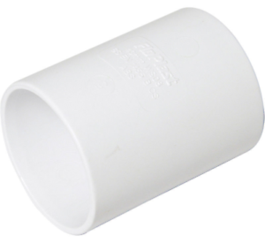 COUPLING FLOPLAST WS09WH 50MM ABS SOLVENT WELD WASTE WHITE