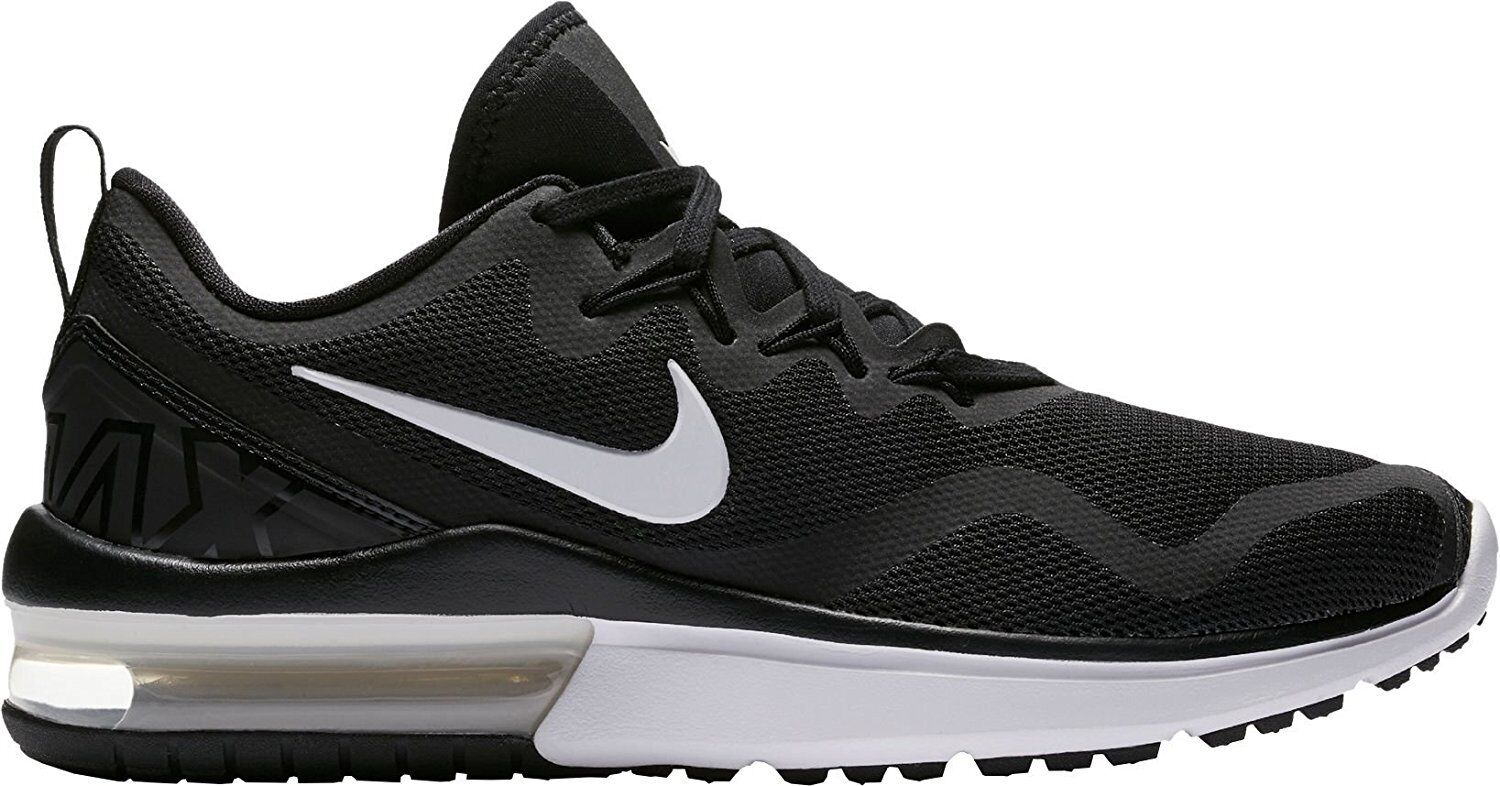 Nike Women's Air Max Fury Running Shoes 8.5 6 7 7.5 8 8.5 Shoes 10 Black White AA5740 001 47a278