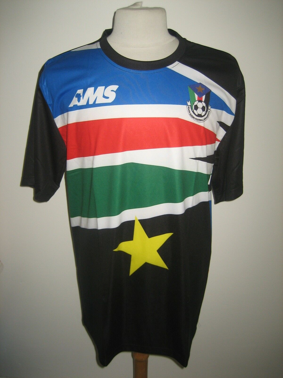 South Sudan away football shirt soccer jersey maillot trikot maglia Talla XL