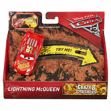 Disney Pixar Cars 3 Crazy 8 Crashers Vehicle - Lightning McQueen