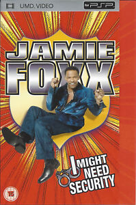 JAMIE-FOXX-I-MIGHT-NEED-SECURITY-UMD-video-for-PSP