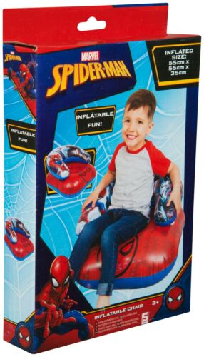 Kids Spiderman,Paw Patrol,Princess,Shimmer/&Shine Round Inflatable Chair Gift 3+y