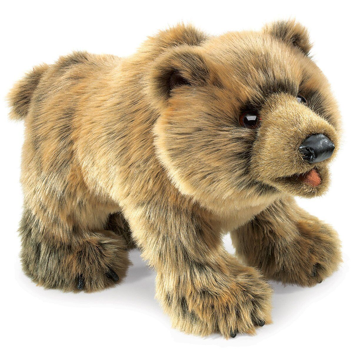 Folkmanis Grizzly Bear Hand Puppet , New, Free Shipping