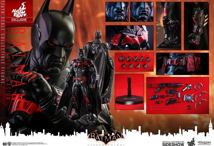 heiß Spielzeugs Exclusive Batman (Futura Knight Version)