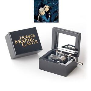 Merry Go Round of Life Classic Black Square Music Box Howls Moving Castle