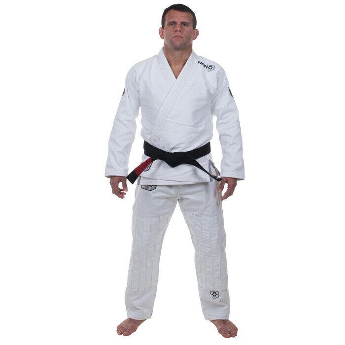 rez Nano Bjj Gi Bianco JiuJitsu Brasiliano Gi Kimono Uniforme Grappling
