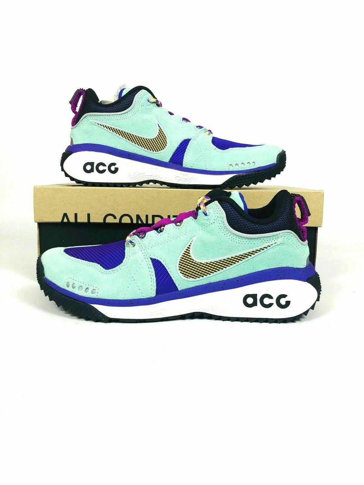 New Nike ACG Dog Mountain Emerald Rise bluee bluee bluee Purple AQ0916 300 2f9e26