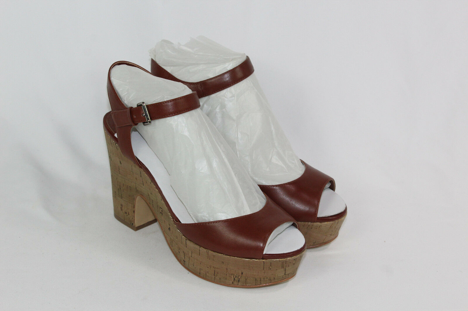 Marc Fisher Leather Platform Sandals - Calia pick size color new